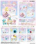 Re-ment Miniatures Little Twin Stars Girly Dolly Room Set