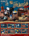 Re-Ment charles brown Miniature PEANUTS SNOOPY'S little jazz caf