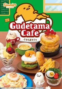 Re-ment Sanrio Miniature Gudetama Cafe Egg Set