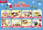 Re-Ment Miniature Snoopy's Party Cake Shop Set 2